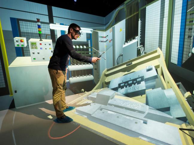Formation au geste technique par la réalité virtuelle