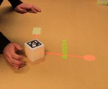 Realité augmentée pour jeu pédagogique